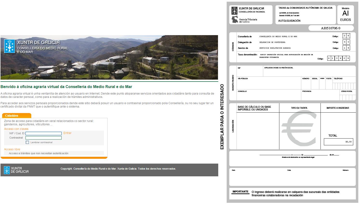 Gesti n de declaraci n anual de cultivos e - Mediorural xunta es oficina agraria virtual ...
